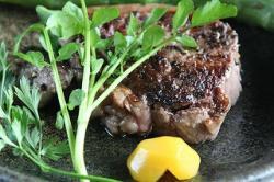 萩の茶屋:常陸牛モモステーキ