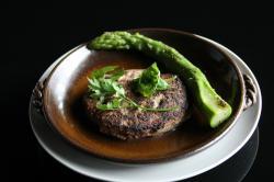 萩の茶屋:常陸牛ハンバーグ